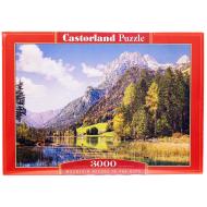 упаковка игры Пазл Альпы 3000 элементов Castorland