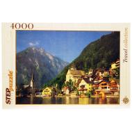 упаковка игры Пазл Австрия Хальсштадт 4000 элементов Step Puzzle