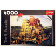 упаковка игры Пазл Вавилонская башня 4000 элементов Trefl