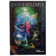 упаковка игры Пазл Дульсинея Silver 1000 элементов Step Puzzle