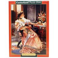 упаковка игры Пазл Первые розы 1500 элементов Castorland