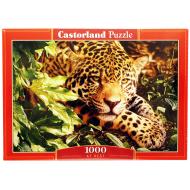 упаковка игры Пазл Леопард 1000 элементов Castorland