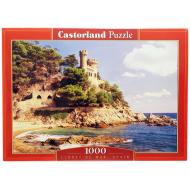 упаковка игры Пазл Ллорет де Мар Испания 1000 элементов Castorland
