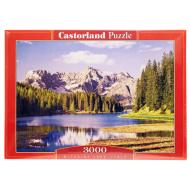 упаковка игры Пазл Озеро Италия 3000 элементов Castorland