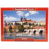 упаковка игры Пазл Прага Чехия 1000 элементов Castorland