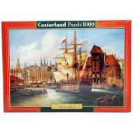 упаковка игры Пазл Старый Гданьск 1000 элементов Castorland
