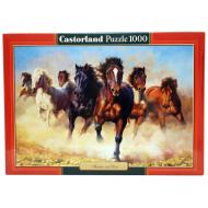 упаковка игры Пазл Гром и пыль 1000 элементов Castorland
