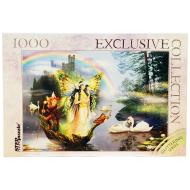 упаковка игры Пазл Волшебное озеро Glitter 1000 элементов Step Puzzle