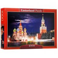 упаковка игры Пазл Красная площадь Москва 1000 элементов Castorland