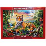 упаковка игры Пазл Король джунглей 1000 элементов Castorland