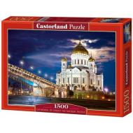 упаковка игры Пазл Храм Христа-Спасителя 1500 элементов Castorland