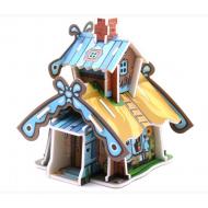 упаковка игры Модель Дачный домик Умная бумага