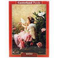 упаковка игры Пазл Поцелуй ангела 1000 элементов Castorland