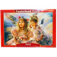 упаковка игры Пазл Ангелы 500 элементов Castorland