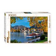 упаковка игры Пазл Бавария Озеро Тегернзее 1000 элементов Step Puzzle