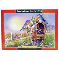 упаковка игры Пазл Птицы 1000 элементов Castorland