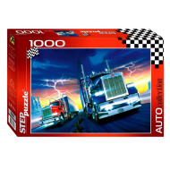 упаковка игры Пазл Битва титанов 1000 элементов Step Puzzle