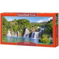 упаковка игры Пазл Водопады Крка Хорватия 4000 элементов Castorland
