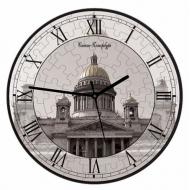упаковка игры Часы-пазл Исаакиевский собор Умная бумага