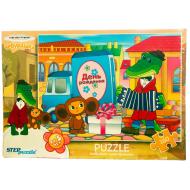 упаковка игры Пазл Чебурашка 160 элементов Step Puzzle