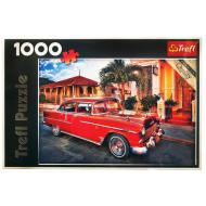 упаковка игры Пазл Шевроле Бэль Эр Олдтаймер, Куба 1000 элементов Trefl