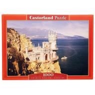 упаковка игры Пазл Ласточкино гнездо 1000 элементов Castorland