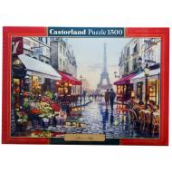 упаковка игры Пазл Цветочный магазин 1500 элементов Castorland