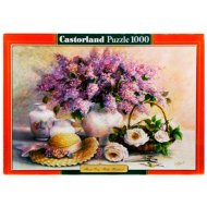 упаковка игры Пазл Цветы Живопись 1000 элементов Castorland