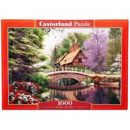 упаковка игры Пазл Дом у реки 1000 элементов Castorland
