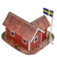 упаковка игры Шведский домик Умная бумага
