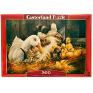 упаковка игры Пазл Друзья 500 элементов Castorland
