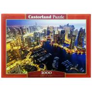 упаковка игры Пазл Дубай ночью 1000 элементов Castorland