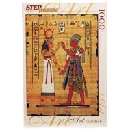 упаковка игры Пазл Египетский папирус 1000 элементов Step Puzzle
