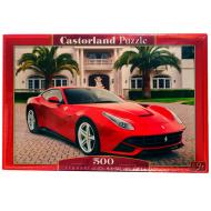 упаковка игры Пазл Ферари F12 500 элементов Castorland