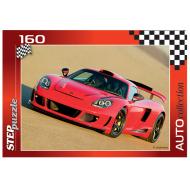 упаковка игры Пазл Машина 160 элементов Step Puzzle