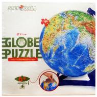 упаковка игры Глобус-пазл географическая карта мира