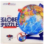 упаковка игры Глобус-пазл политическая карта мира