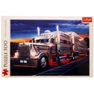 упаковка игры Пазл Серебряный грузовик 500 элементов Trefl