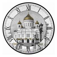 упаковка игры Часы-пазл Храм Христа Спасителя Умная бумага