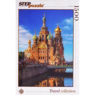 упаковка игры Пазл Храм Спаса на Крови 1500 элементов Step Puzzle