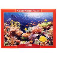 упаковка игры Пазл Коралловый риф 1000 элементов Castorland