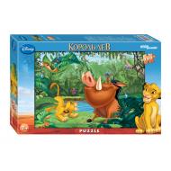 упаковка игры Пазл Король Лев 360 элементов Step Puzzle