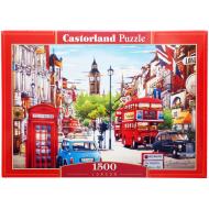 упаковка игры Пазл Лондон 1500 элементов Castorland