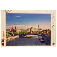 упаковка игры Пазл Москва Кремль 1500 элементов Step Puzzle