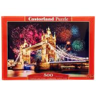 упаковка игры Пазл Тауэрский мост 500 элементов Castorland