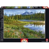 упаковка игры Пазл Национальный парк Маунт-Рейнир Educa