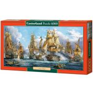 упаковка игры Пазл Морской бой 4000 элементов Castorland