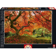 упаковка игры Пазл Осень в японском саду Educa