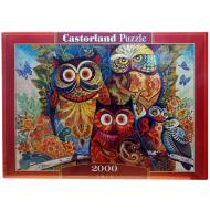 упаковка игры Пазл Совы 2000 элементов Castorland