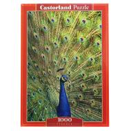упаковка игры Пазл Павлин 1000 элементов Castorland